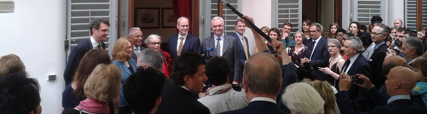 Dignitaries Gather at Grand Opening of Palazzo Vettori