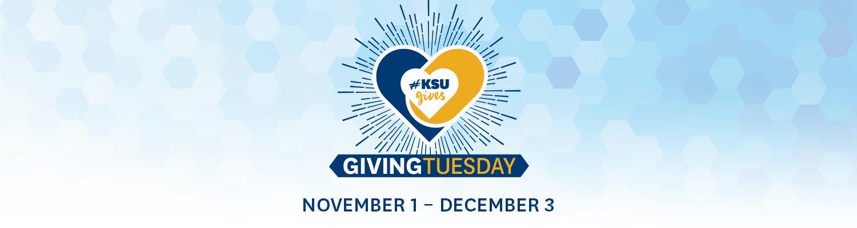Giving Tuesday | November 1 - December 3