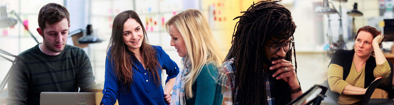 Graduate Students at the Kent State University School of Visual Communication Design