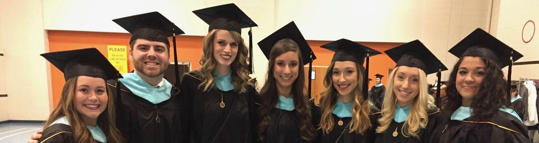 Graduate Students at Graduation