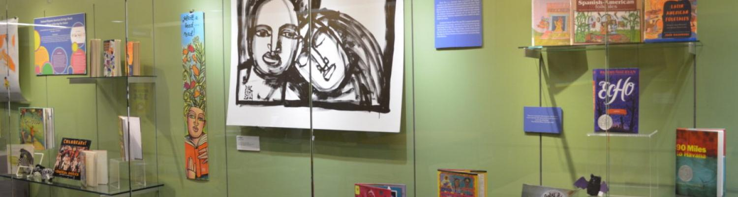 Exhibit at Kent State University by the Reinberger Children's Library Center and MLIS students