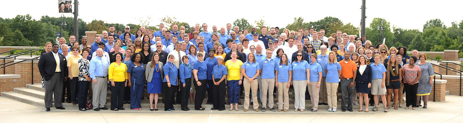 Division of Student Affairs staff members
