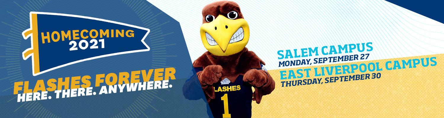 Kent State Homecoming 2021 Columbiana County Campuses