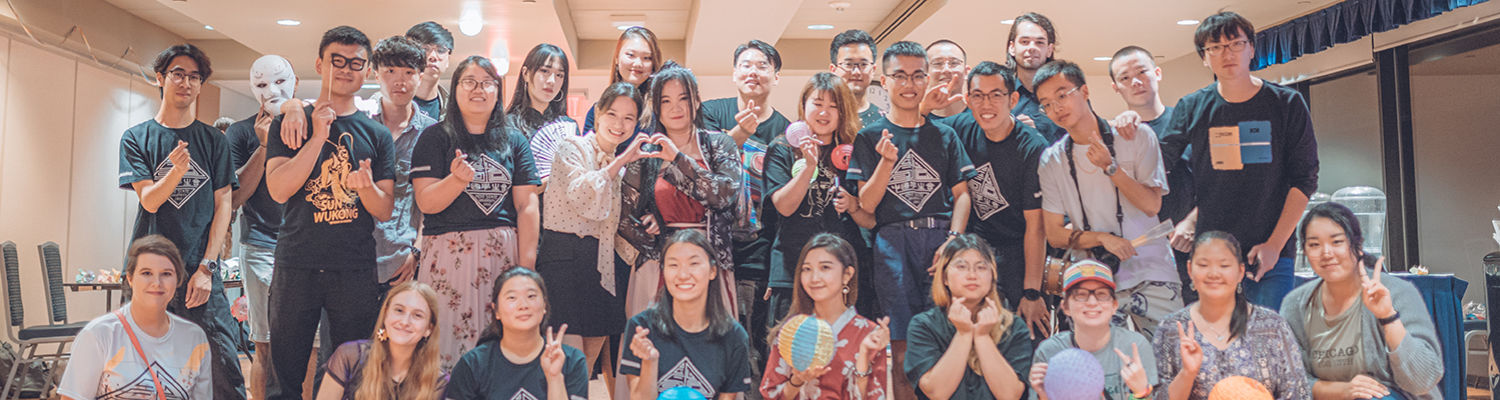 Mid-Autumn Festival Group Photo at Kent State 2019