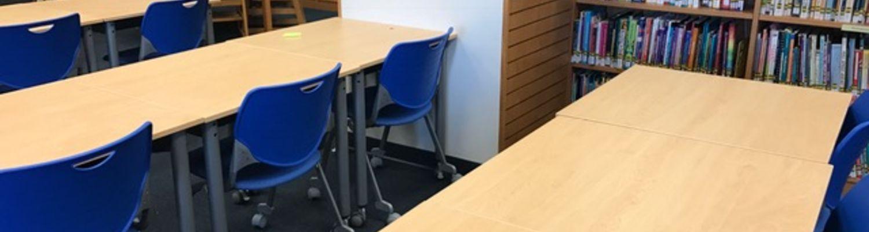 desks in the reinberger