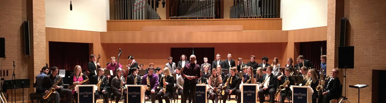 Jazz Invitational performance March 2016