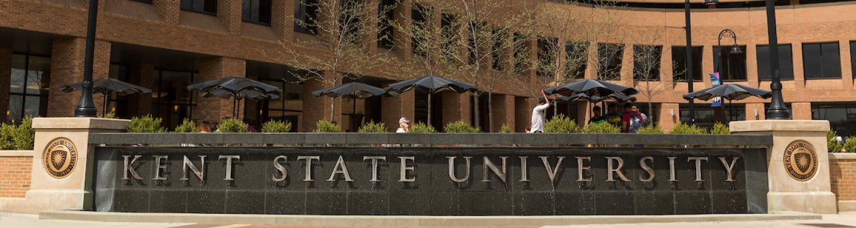 Kent State University Risman Plaza Fountain