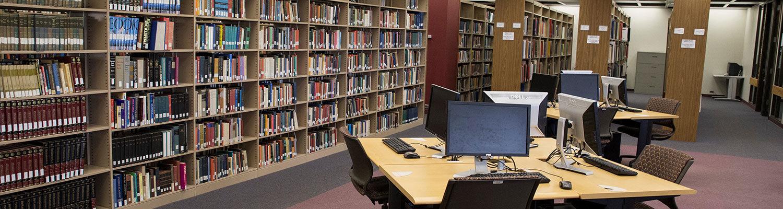 Stark Campus Library, Second Floor