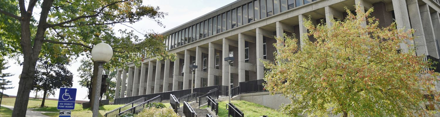 image of Taylor Hall, home of the School of Communication Studies