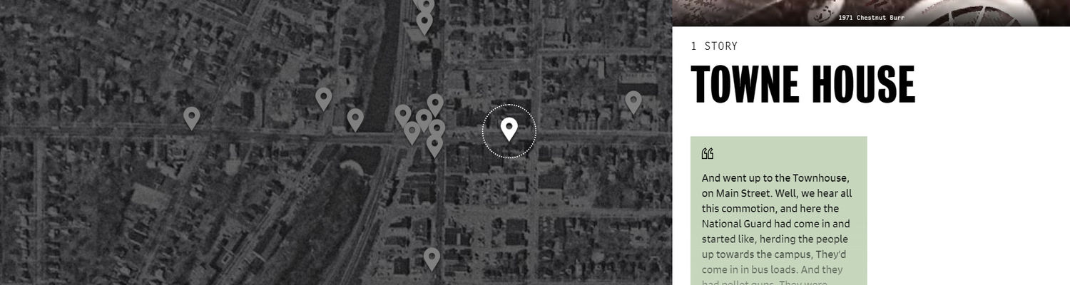 Mapping May 4- Towne House