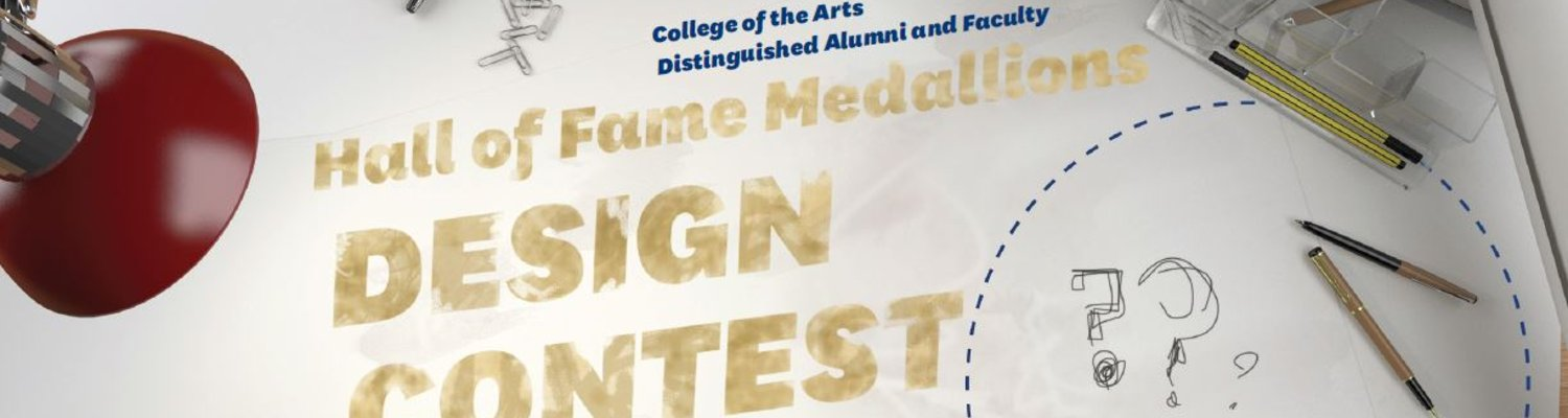 Hall of Fame Medallions Design Contest, College of the Arts