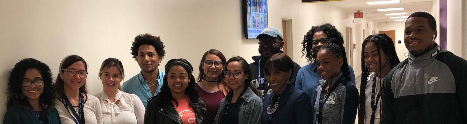 Dr.Brown with meet and greet and ASSURE students