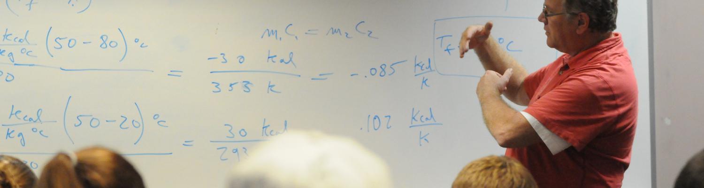 Dr. Fisch teaching