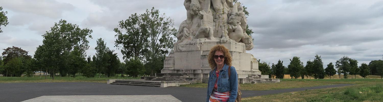 Dr. Molly Sergi in Greece