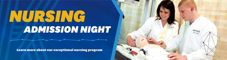 Nursing Admission Night