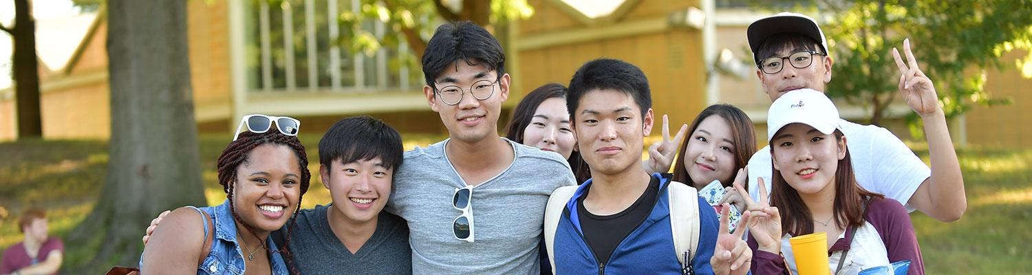 New International Students at Kent State