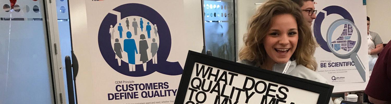 Public relations major Nicole Zahn interns at FedEx Custom Critical