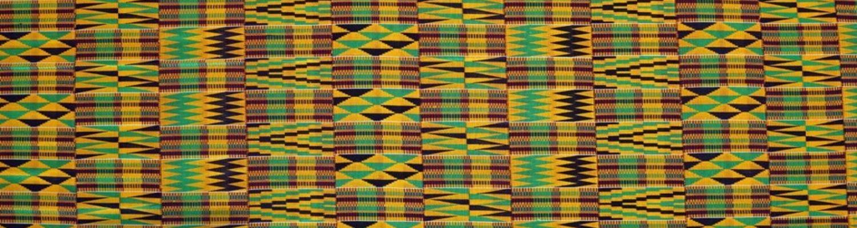 Ghanaian Kente fabric design