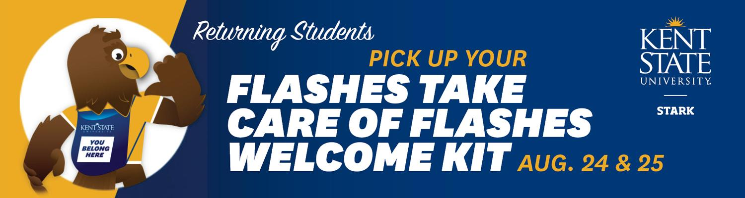 Returning Students Welcome Kit Pick-Up Days