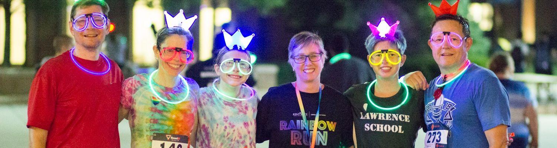 Rainbow Run 5K 2018 group photo