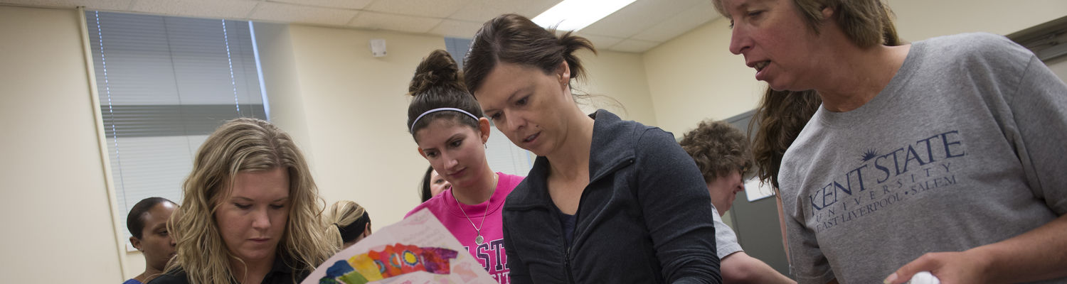 Occupational Therapy students learn a lot hands-on.