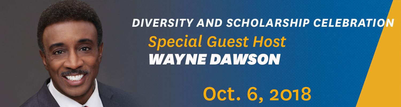 Diversity and Scholarship Celebration Host Wayne Dawson
