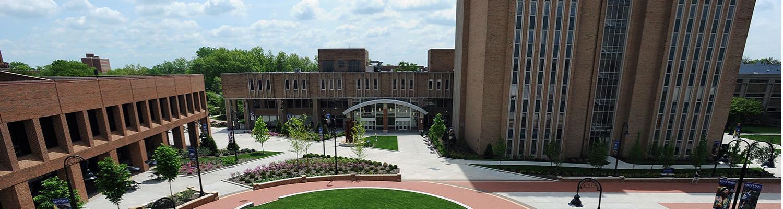 Risman Plaza ariel view