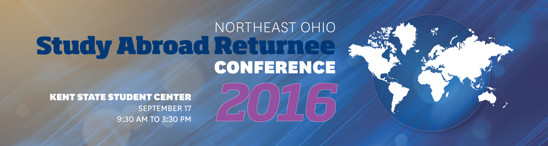Northeast Ohio Study Abroad Returnee Conference 2016