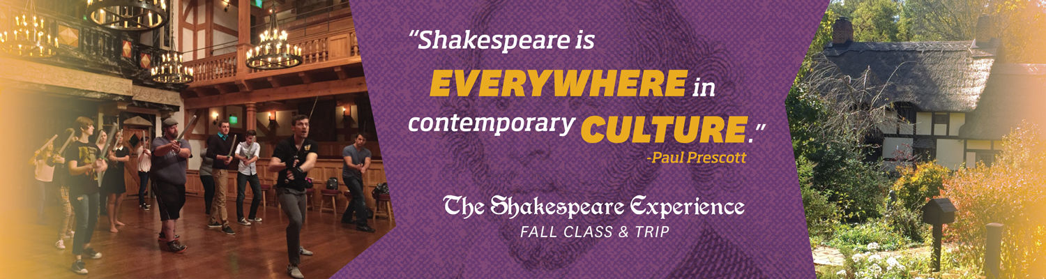 The Shakespeare Experience Class and Trip
