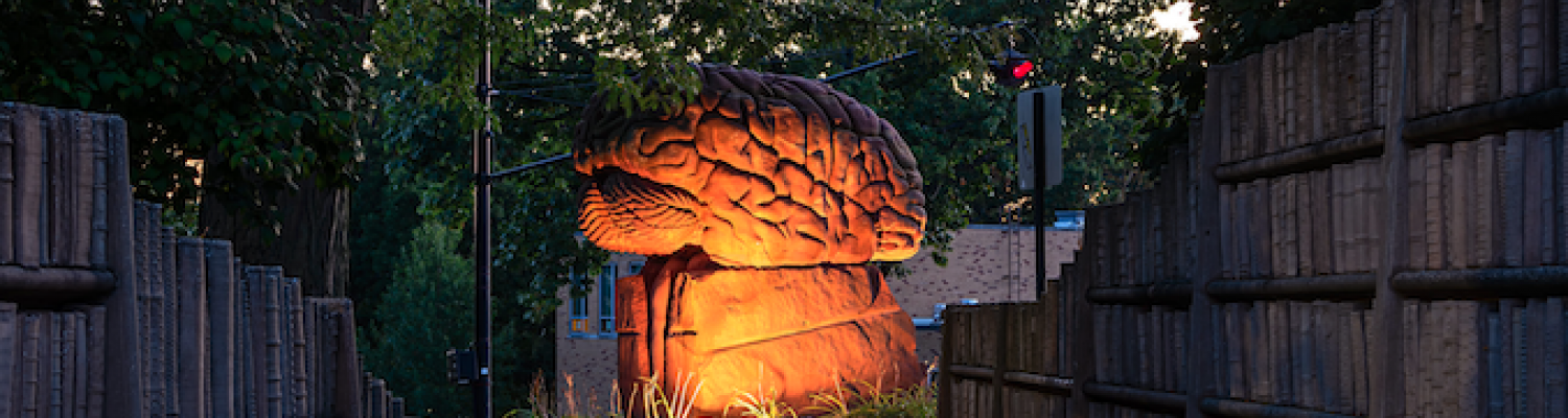 Photo of the Brain on Kent Campus