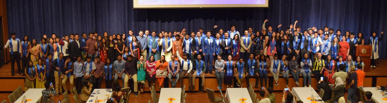Kent State International Student Graduates. Spring 2017