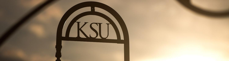 Kent State Campus view