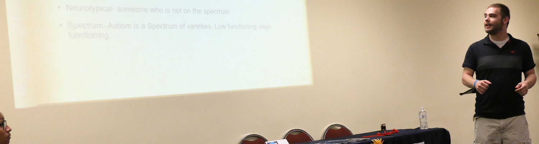 Student Speaker Travis Askew