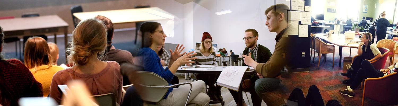 Undergraduate Students at the Kent State University School of Visual Communication Design