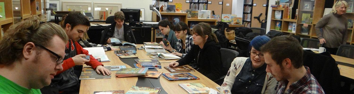VCD class visiting the RCLC's Marantz Picturebook Collection