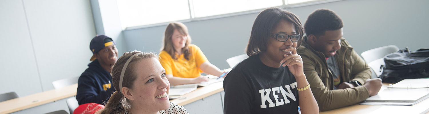 Kent State University offers over 100 sustainability related courses