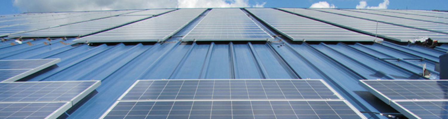 Solar panels on the Field House cover 1 acre of roof or nearly 0.5 megawatt of panel capacity