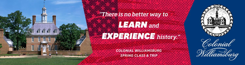 Kent State Stark Williamsburg Class and Trip