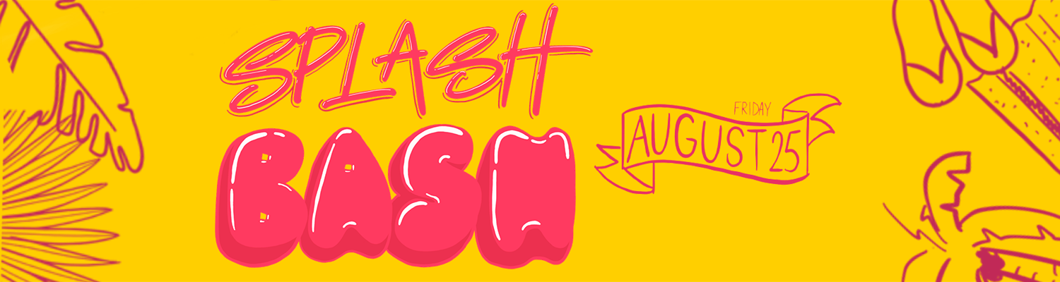 Splash Bash Web Banner