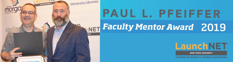 Paul L. Pfeiffer Faculty Mentor Award 2019
