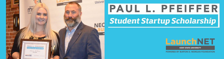 Paul L. Pfeiffer Student Startup Scholarship 2019