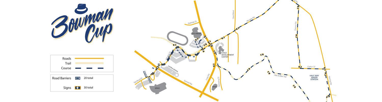 Bowman Cup Race Map