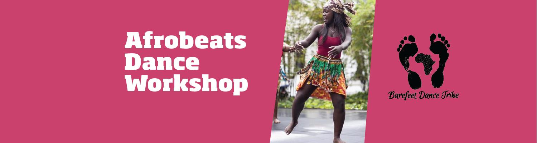 Afrobeat workshop website header image