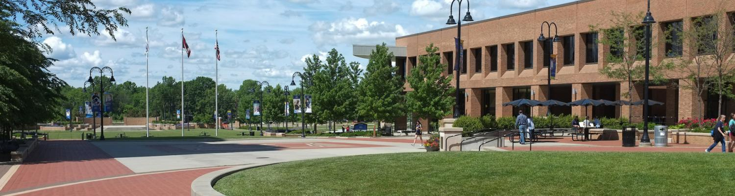 Risman Plaza on the Kent Campus