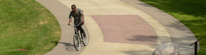 Bike on Esplanade