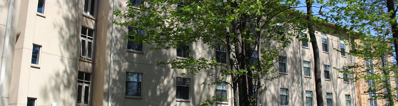 Outdoor shot of Centennial Court F