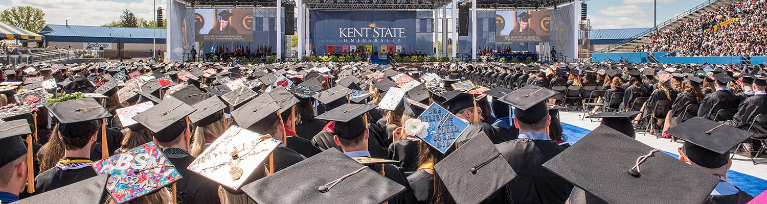 Kent State University Commencement Ceremony