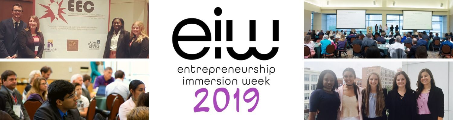 Entrepreneurship Immersion Week 2019 at Kent State University, hosted by LaunchNET