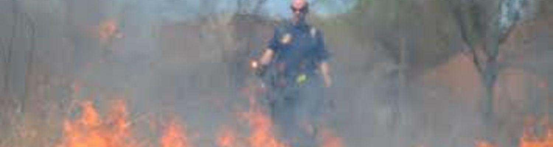 controlled burn by SRWC
