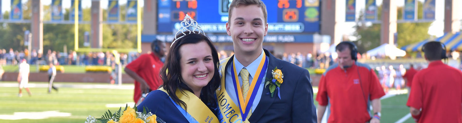 2018 Homecoming King and Queen
